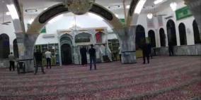شرطة الاحتلال تقتحم مسجدا في نحف وتغرم مصلين