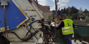 نقابة العاملين في بلدية رام الله تتضامن مع عمال الطوارئ