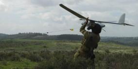 الاحتلال يعترف بسقوط طائرة استطلاع جنوب القطاع