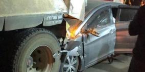 مصرع شابين وإصابة آخرين في حادث طرق بالنقب