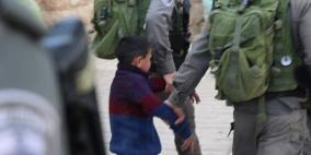 الاحتلال اعتقل 336 طفلا فلسطينيا منذ بداية العام