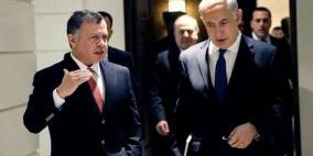 العاهل الأردني ينقل تحذيرات الضم إلى غانتس ومؤسسة الاحتلال الأمنية