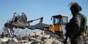 إخطارات هدم لستة منازل مأهولة في رام الله