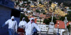 فيروس كورونا: البرازيل تسجل 1124 وفاة خلال يوم واحد