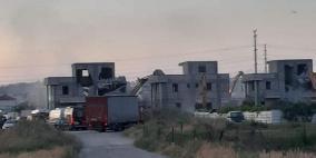 هدم أربعة منازل قيد الإنشاء في الطيرة