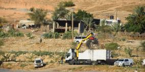 الاحتلال يصادر شبكات المياه والري في الجفتلك