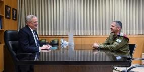 غانتس يوعز بتسريع استعدادات جيش الاحتلال للتعامل مع تبعات الضم