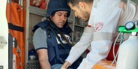 إصابة 5 مواطنين بينهم 3 صحفيين برصاص الاحتلال في مسيرة كفر قدوم