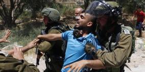 أريحا: الاحتلال يعتدي على مسيرة رافضة لخطة الضم