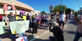 وقفة احتجاجية ضد جرائم قتل النساء في رهط