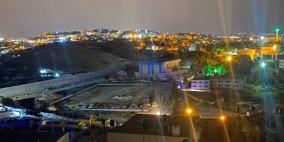 قوات الاحتلال هدم وتجريف الملعب الدولي لكرة القدم التابع لجامعة القدس