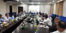 التنمية الاجتماعية والغذاء العالمي يبحثان تنفيذ 200 مشروع في الضفة وغزة