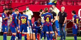 برشلونة يسعى لاستعادة الصدارة في مباراته أمام بلباو