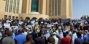 مظاهرة غاضبة لأهالي النقب في بئر السبع ضد الهدم والترحيل