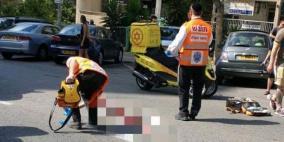 إصابة حرجة في حادث دهس بحيفا
