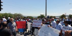 نحف: تظاهرة غاضبة ضد هدم المنازل واعتقال شاب