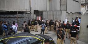 اربعة قتلى في هجوم على بورصة كراتشي