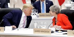 """ترامب وصف ميركل بـ""""الغبية"""" وتيريزا ماي بـ""""الحمقاء"""""""