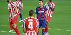 برشلونة يتابع نزيف النقاط