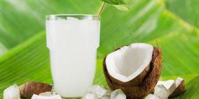 فوائد عصير جوز الهند