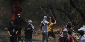كفر قدوم: إصابة 15 مواطنا بالرصاص المعدني