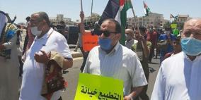 الأردن: : وقفة احتجاجية أمام السفارة الأمريكيّة رفضًا لمُخطّط الضم