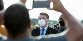 الرئيس البرازيلي يخضع لفحص كورونا بعدما ظهرت عليه عوارض المرض