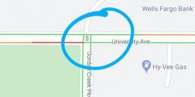 خرائط جوجل تظهر إشارات المرور في الشوارع