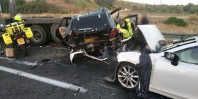 9 إصابات في حادث طرق