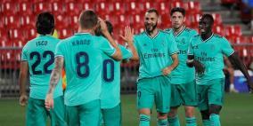 ريال مدريد على أعتاب لقب الدوري الإسباني