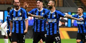 إنتر إلى المركز الثاني في الدوري الإيطالي