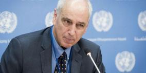 مسؤول أممي: ممارسات اسرائيل إهانة للعدالة ولسيادة القانون