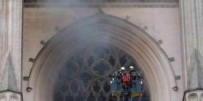 احتجاز رجل على صلة بحريق كاتدرائية نانت