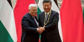 الكشف عن تفاصيل اتصال هاتفي بين الرئيس عباس ونظيره الصيني