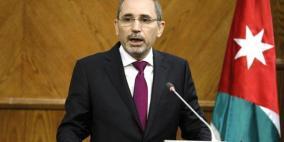 وزير الخارجية الأردني يبحث مع ميلادينوف المواقف الدولية إزاء الضم