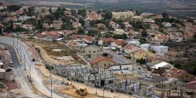 الاحتلال يستولي على 525 دونمًا من أراضي نحالين
