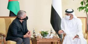 عبد الله الثاني ومحمد بن زايد يحذران من تقويض عملية السلام