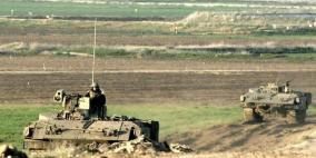 آليات الاحتلال تتوغل شمال القطاع