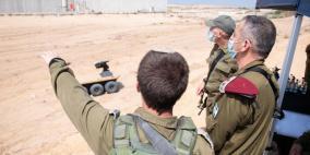 كوخافي يتجول على حدود غزة