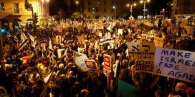 استمرار التظاهرات المطالبة بإسقاط نتنياهو