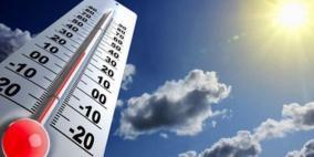 الأرصاد تتوقع استمرار الأجواء الحارة
