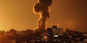 طائرات الاحتلال تستهدف عدة مواقع في غزة