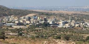 قلقيلية: الاحتلال يسلم اخطارات بوقف البناء في النبي الياس