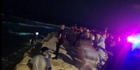 مصرع مواطنين من الضفة الغربية غرقا في بحر يافا