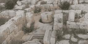 """الاحتلال يستولي على خربة """"دير سمعان"""" الأثرية غرب سلفيت"""