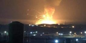 بالفيديو.. انفجار كبير بمستودع ذخيرة في الأردن دون إصابات