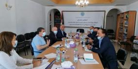 اتحاد جمعيات رجال الاعمال يبحث مع كهرباء القدس آليات الخروج من الأزمة المالية والاقتصادية