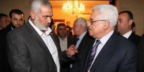 تفاصيل الاتصال الهاتفي بين الرئيس عباس وإسماعيل هنية