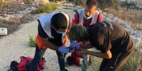 5 إصابات برصاص قوات الاحتلال شرق قلقيلية