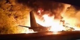25 قتيلا في حادث تحطم طائرة عسكرية